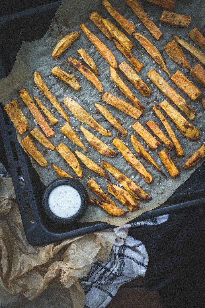 potimanon frites de patate douce