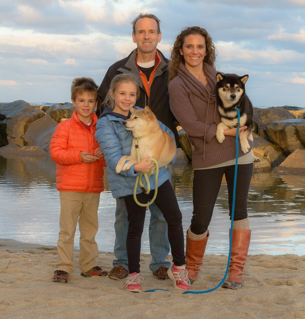 Portraits of the Jersey Shore Cancer Lori and Family
