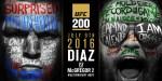 UFC 200: Diaz - McGregor II ja muut varmistuneet ottelut