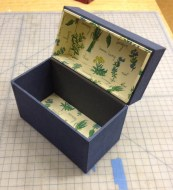 First Recipe Box Model