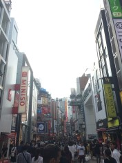 More Shibuya. It looks loud, but it was actually very quiet