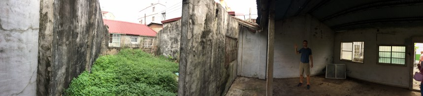 Dad's land and childhood home in Meinong