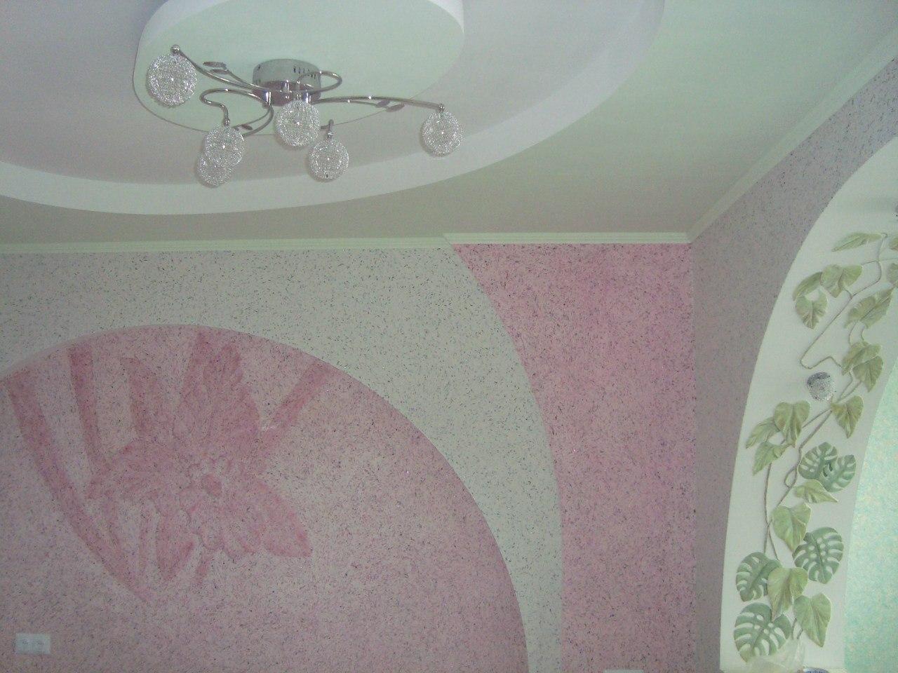 Жидкие обои Натяжные потолки Кривой Рог