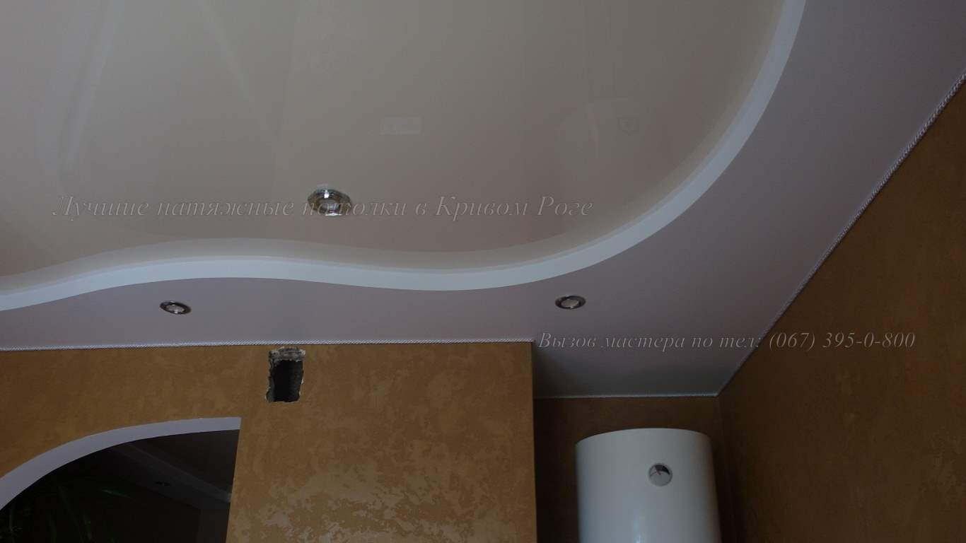 гипсокартонный короб для натяжного потолка в кривом роге