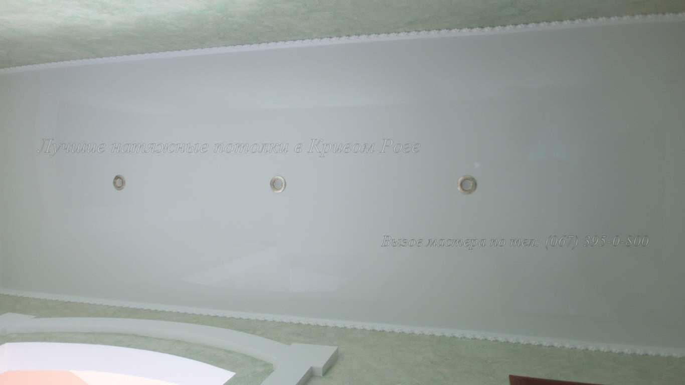 Натяжные потолки в коридор кривой рог
