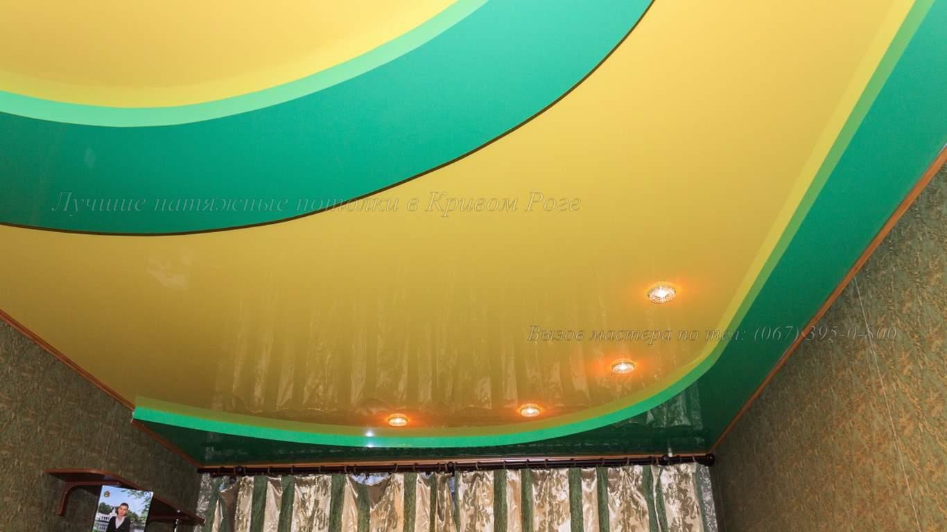 Дизайн потолка кривой рог