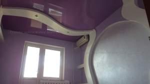 Необычные натяжные потолки фотографии