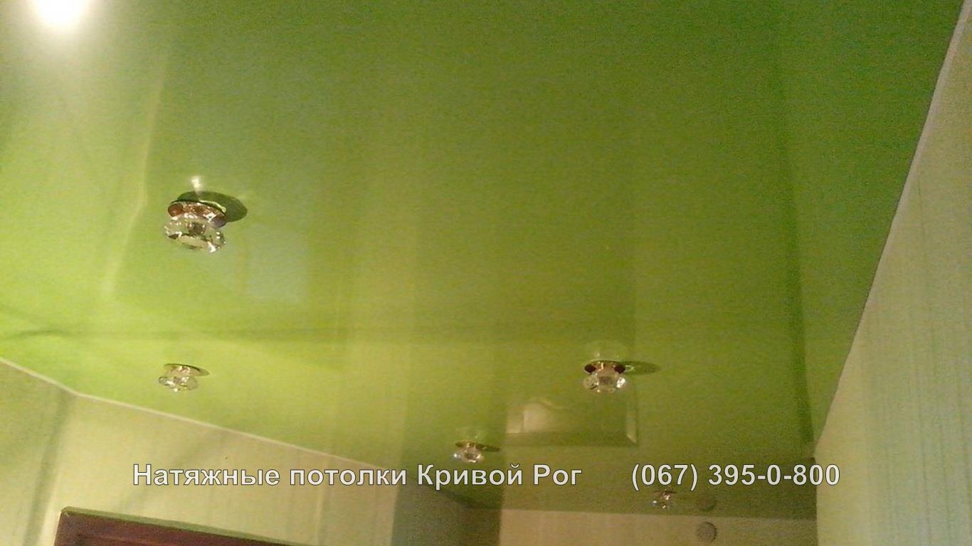 Натяжные потолки Кривой Рог Коридор фото