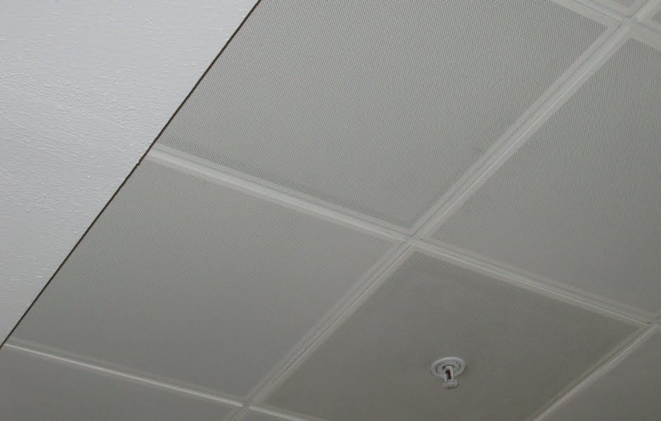 Кассетный потолок албес