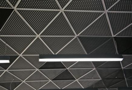 Подвесной дизайнерский потолок