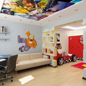 Натяжные потолки для детской комнаты с фотопечатью