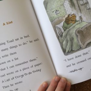 Frog and Toad book