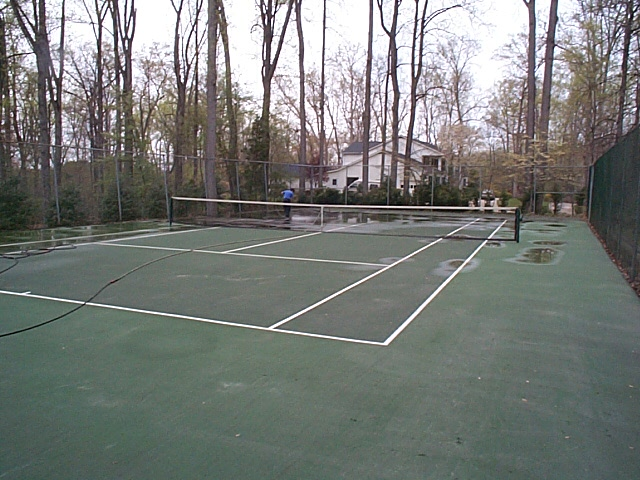Clean Tennis Courts Potomac Avenel Bethesda Chevy Chase