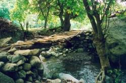 Дървено мостче