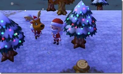 Animal Crossing Nadal