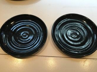 Two medium sized plates