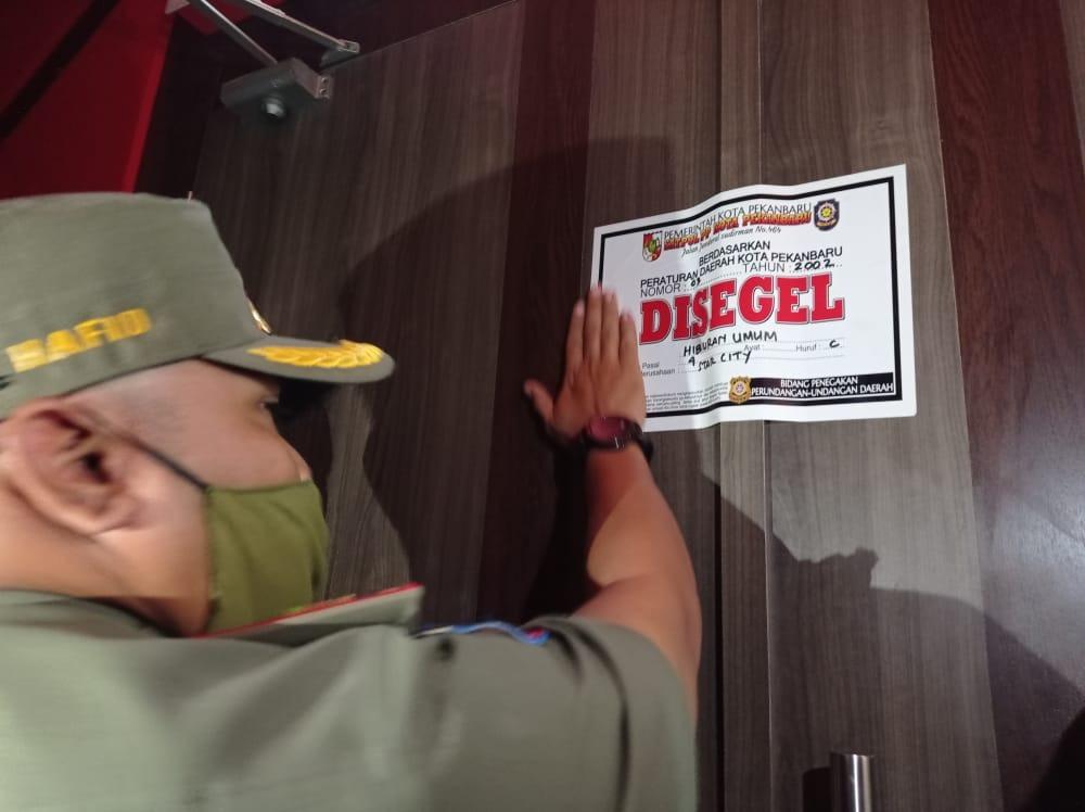 Star City Club Disegel Permanen Pemko Pekanbaru