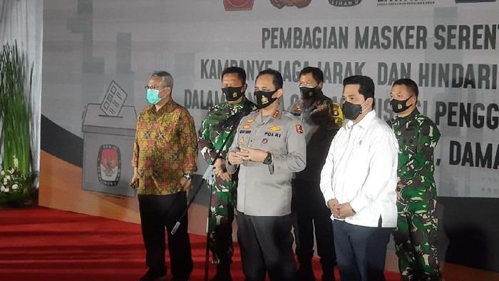 Polri Gandeng Preman Pasar Disiplinkan Penggunaan Masker