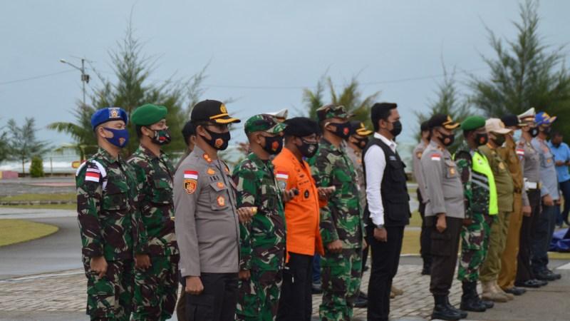 Jelang Malam Pergantian Tahun, Polres Natuna dan FKPD Natuna Laksanakan Apel Kesiapan Pengamanan