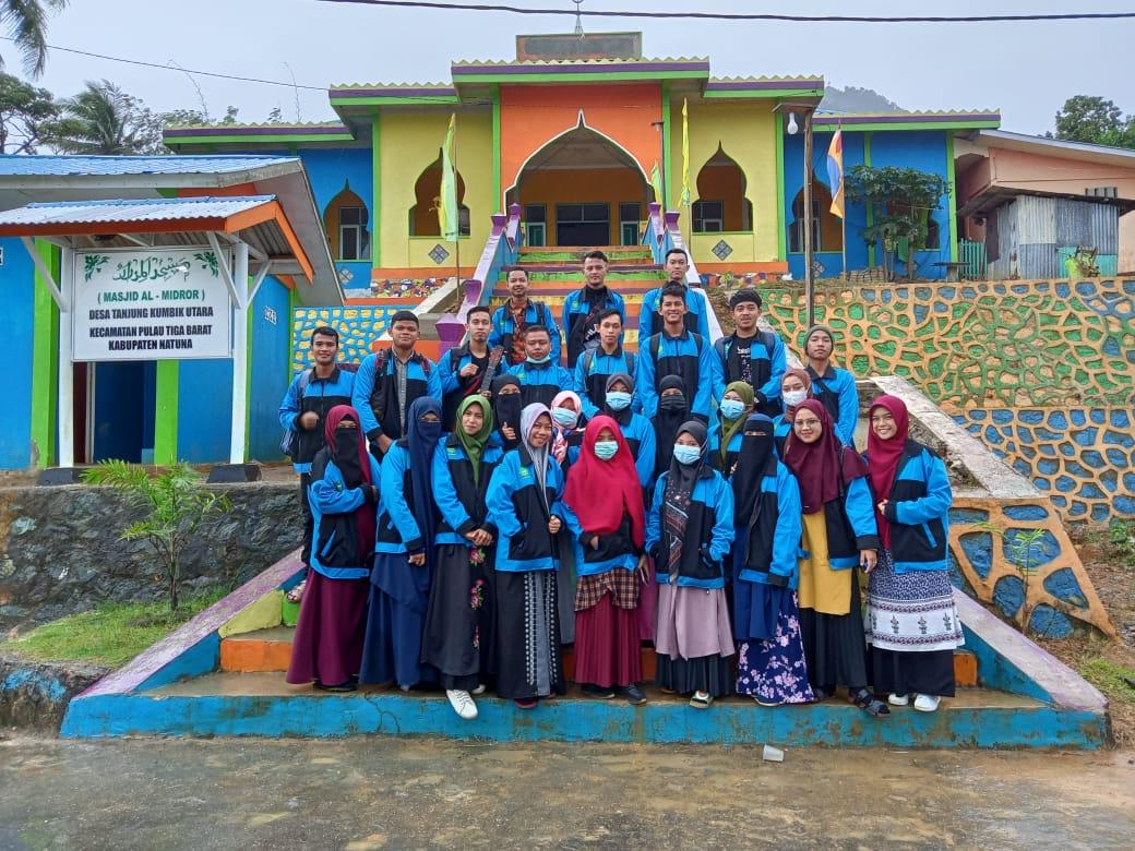 LDK STAI Gelar Wisata Religi dan Study Tour ke Pulau Pulau Terluar di Natuna