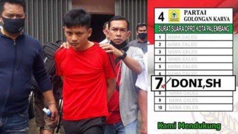 Dituntut Hukuman Mati, Mantan Anggota DPRD Palembang Ini Ketakutan