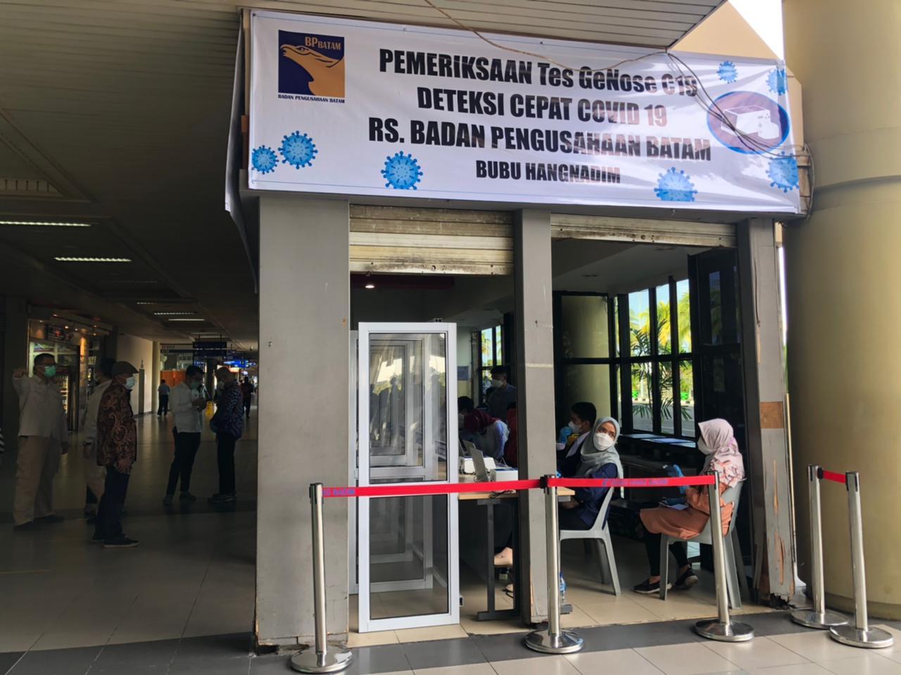 SAH!, Batam Kini Bisa Lakukan Genose di Bandara Hang Nadim