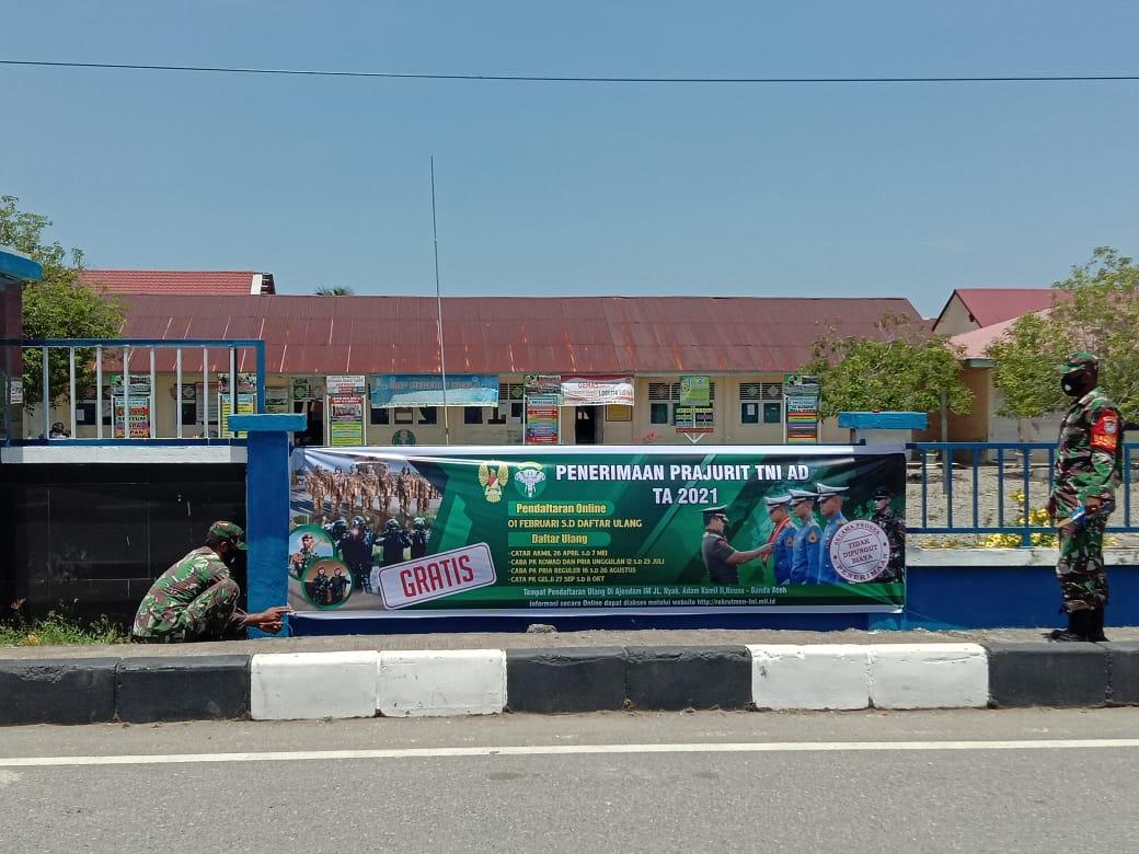 Rekrutmen Calon Prajurit TNI AD 2021, Tidak Dipungut Biaya