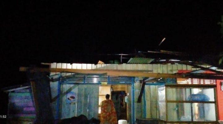 Puting Beliung di Desa Gema Akibatkan 21 Rumah Rusak