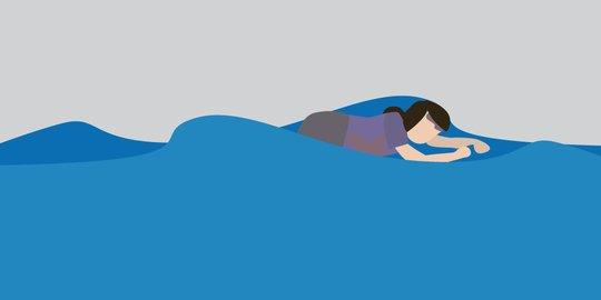 Mandi-Mandi, Bocah Tewas Tenggelam di Pamandian Batang Tabik Sungai Kamuyang