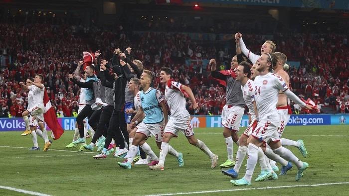 Euro 2021  Denmark Melaju di Euro 2020 Terinspirasi Terbaringnya Eriksen