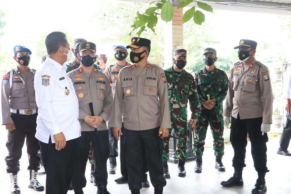 Kapolda Kepri Cek Penanganan Covid-19 di Polres Karimun