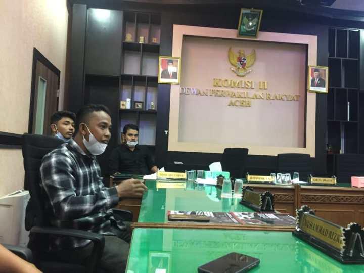 Bertemu Komisi II DPRA, APEL Nagan Raya Ajukan 8 Tuntutan Bagi Perusahaan di Nagan Raya