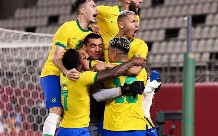 Sepak Bola Olimpiade Tokyo 2020: Tekuk Spanyol, Brasil Raih Emas