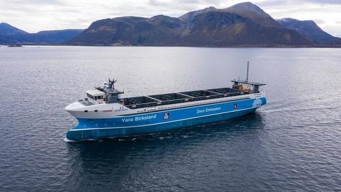 Ini Kapal Kargo 'Hantu' Pertama di Dunia, Seberangi Laut Norwegia Tanpa Awak
