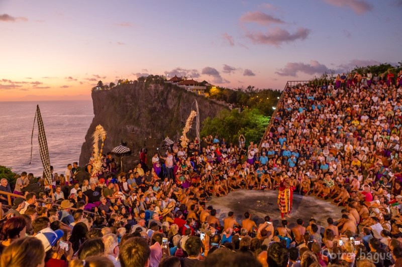 Kecak dance and Ramayana performance at Uluwatu Temple