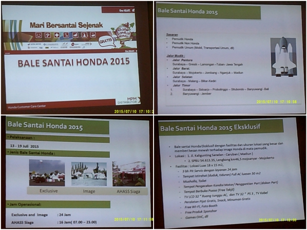 Bale Santai Honda - MPM