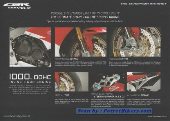 Mesin Honda CBR 1000 RR