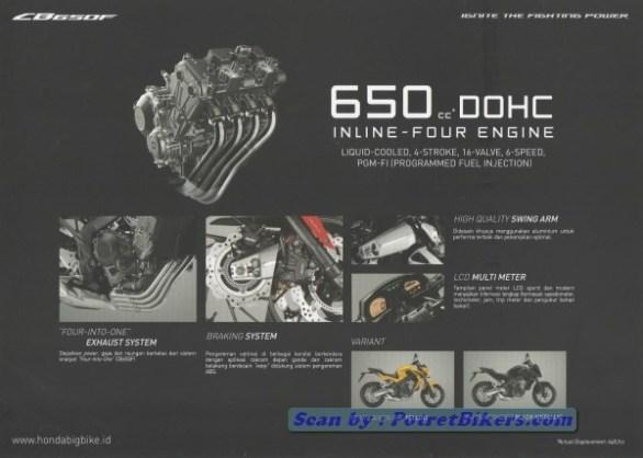 Mesin Honda CB650X