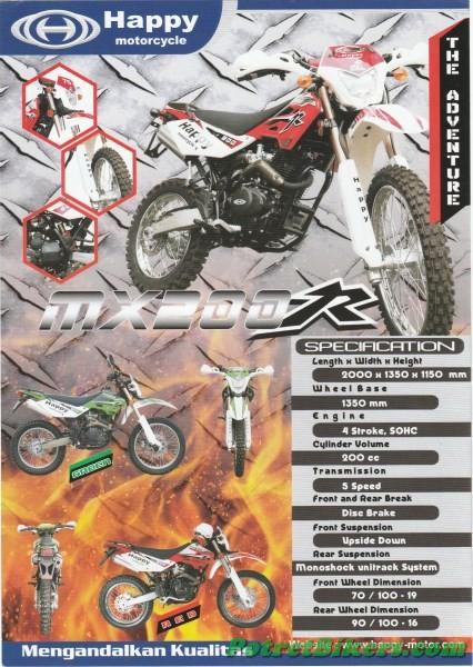 Brosur Happy MX 200