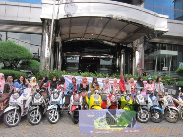 City Touring Bareng All New Fino 125 Blue Core (2)