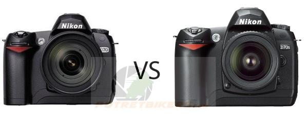 Nikon D70 vs D70s (600 x 222)