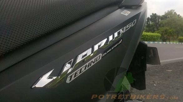 Konsumsi Bahan Bakar Honda Vario 150 eSP Exclusive Limited Edition – 2017 (17)
