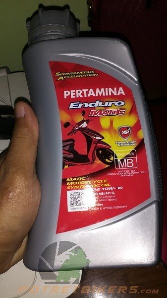 Olie Pertamina Enduro For matic (1)