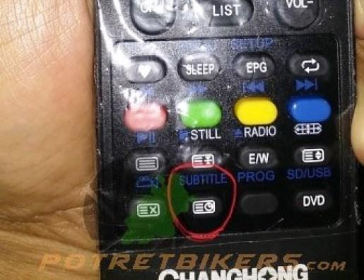 Remote TV Changhong terbaru (2)