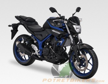 New Color Yamaha MT25 1