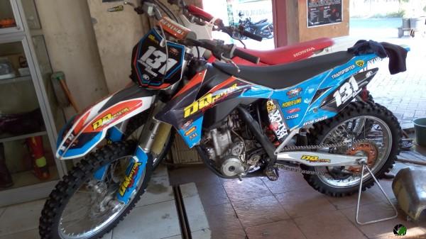 Sambangi Bengkel Special Motor Trail Dq Motor Trail Shop Surabaya