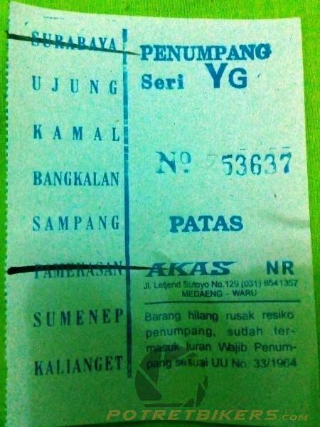 Harga Tiket Bus Surabaya Pamekasan Patas 2017 Pertama