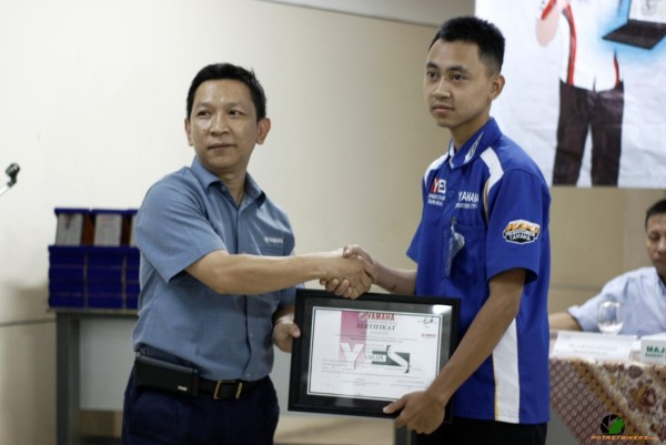 YAMAHA ENGENEERING SCHOOL ( YES ) ANGKATAN 10 (33)