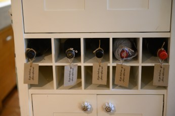 Honesty wine rack
