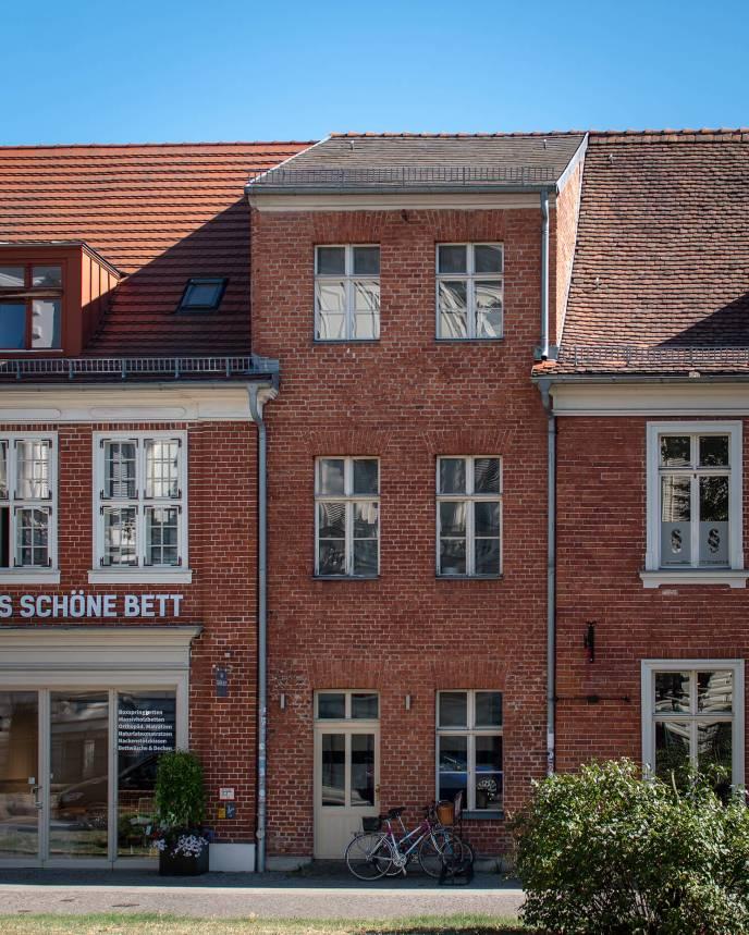 Sehr schmales Haus im Potsdamer Holländer Viertel